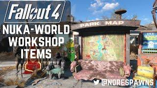 Fallout 4 Nuka-World - New Workshop Items
