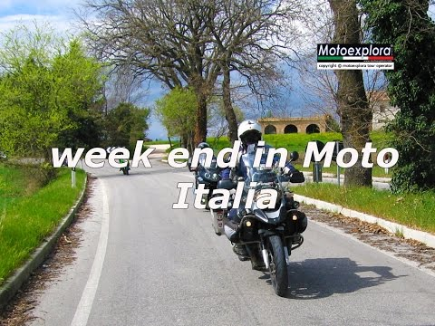 Week end in Moto    Italia