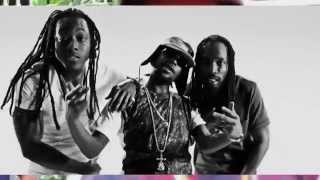 Popcaan - Everything Nice Remix (Official Video & Shoot) Ft  Mavado , Ace Hood   2014