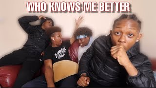 Who Knows Me Best? | Ft. Reubz4k, Ronzo, Dee H
