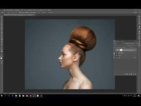 Урок фотошоп. Ровный цвет кожи. Замена канала B=A в LAB