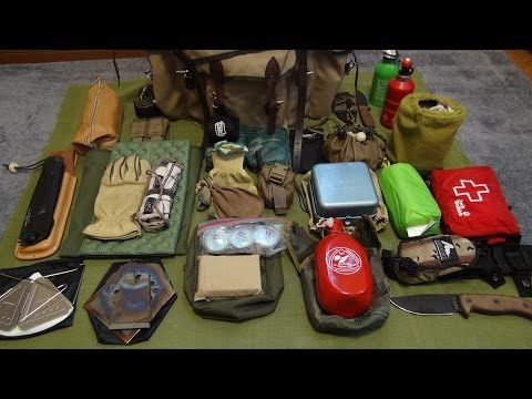 #2 Bushcraft And Day Camping Kit 2014~ For Summer