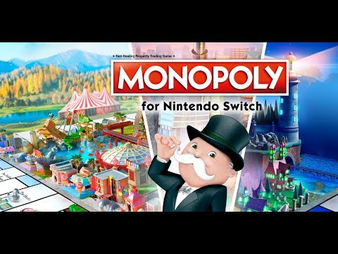 Monopoly for Nintendo Switch Gameplay