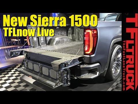 Tailgate Gone Wild: 2019 GMC Sierra 1500 - TFLnow Live ...