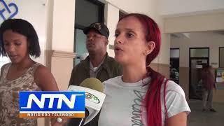 Detienen a dos mujeres portaban arma punzante en el Palacio de Justicia SFM