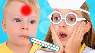Doctor Checkup Song for kids   Healthy Habits Children Songs by Sunny Kids Songs