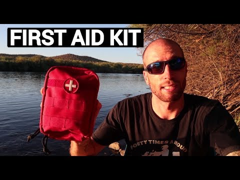 First Aid Kit For Motorcycle Travel and Adventure Riding