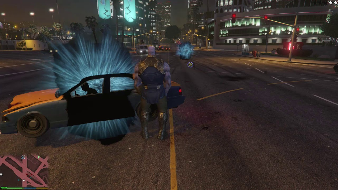 Thanos Is Coming To GTA V Thanks To A New Mod
