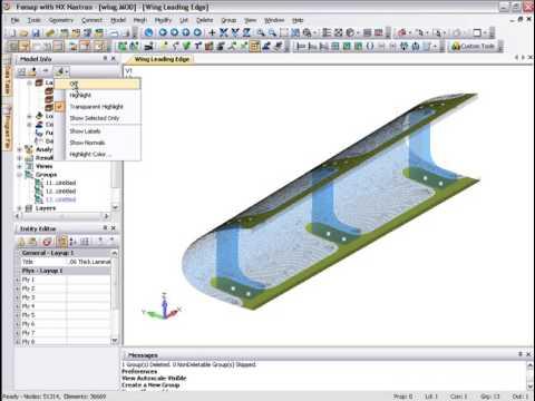Femap Composite Layup