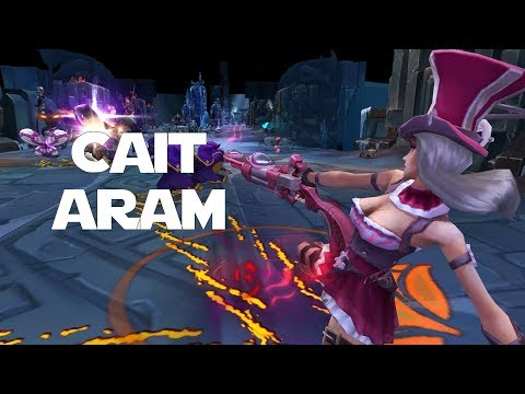 MOST OP ADC IN ARAM!? League of Legends - ARAM - Caitlyn