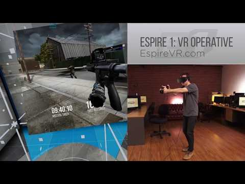 VR Stealth Game Espire 1 (Espire) Gameplay and Locomotion - Rift, Vive