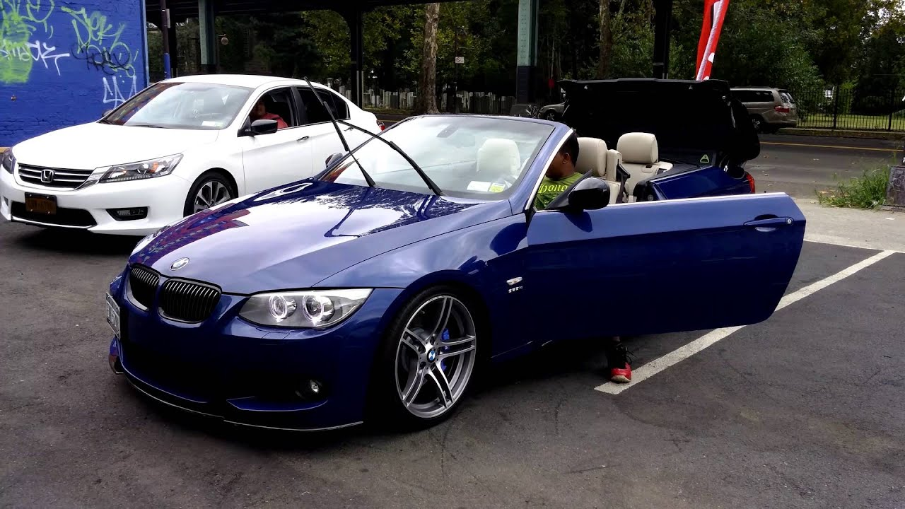 Best Bmw Color Ever 335is Convertible Lemans Blue Youtube