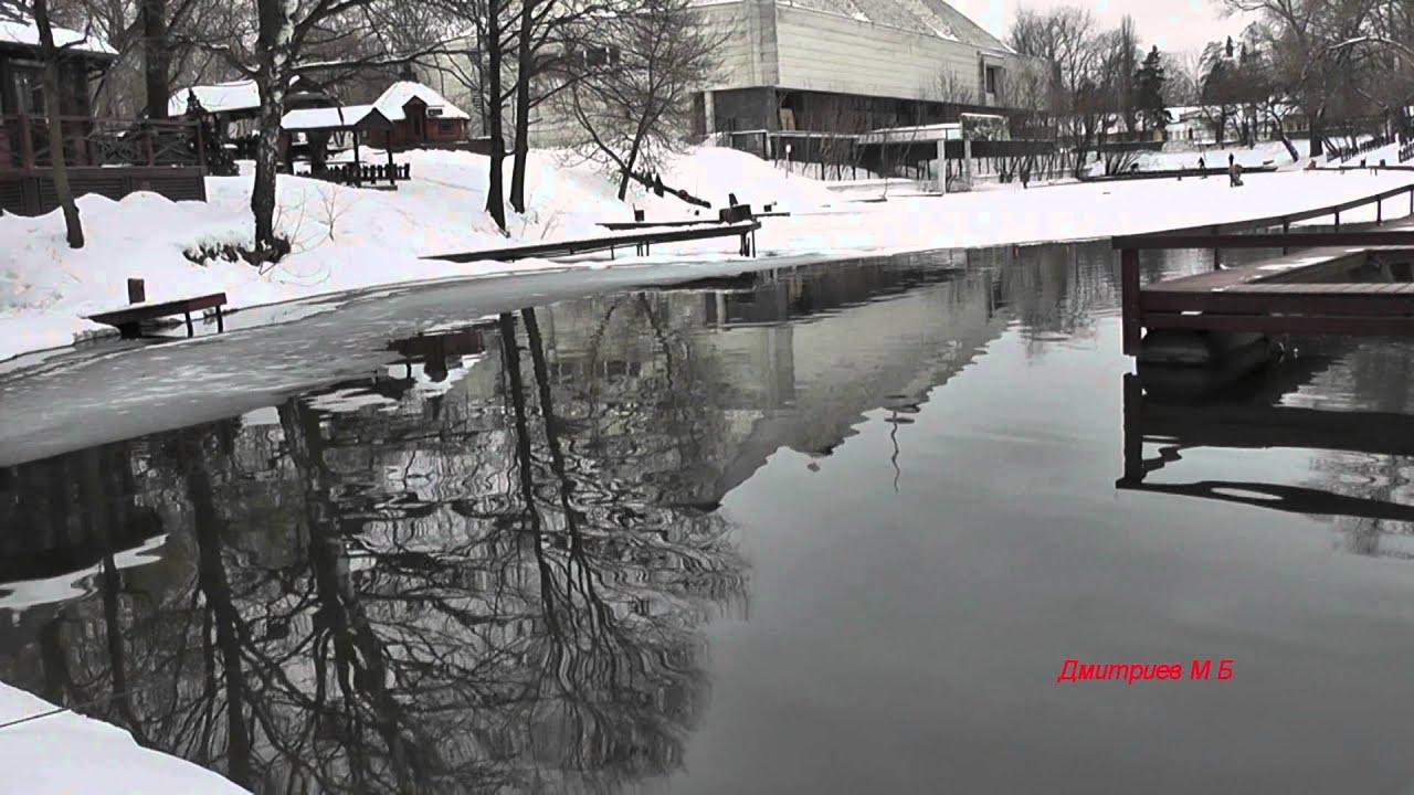 ВВЦ, Рыбацкая деревня,форель. 13 февраля 2015 года