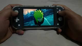 Naruto Ultimate Ninja Storm 3 Full Burst Story Mode on Nintendo Switch Lite