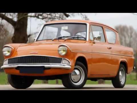 Ford Anglia 105e 1953-1967