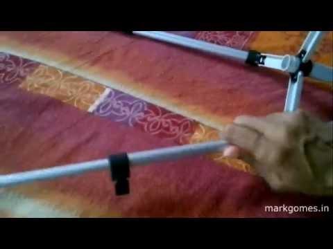 Cách sử dụng chân tripod Weifeng WT 3110A