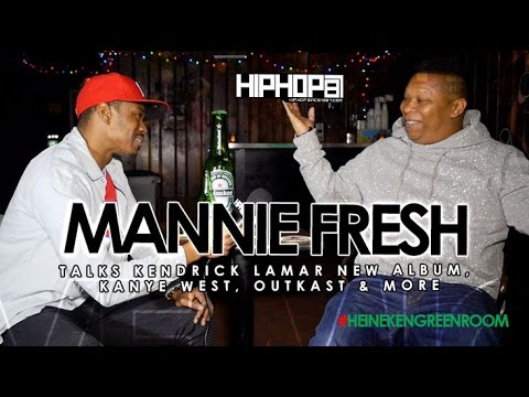 Mannie Fresh Talks Kendrick Lamar New Album, Kanye West, Outkast & More