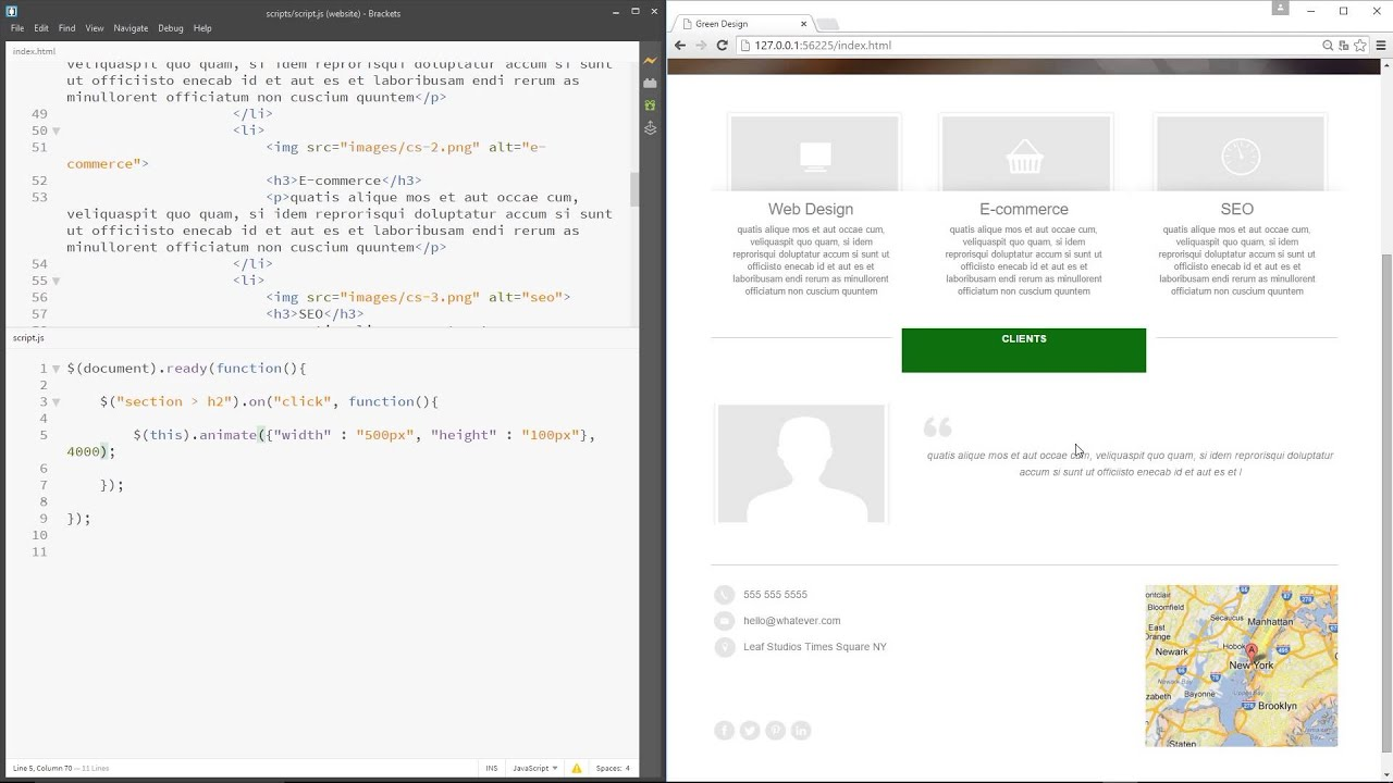 671137ed4 jQuery Tutorial for Beginners #19 - Animations in jQuery