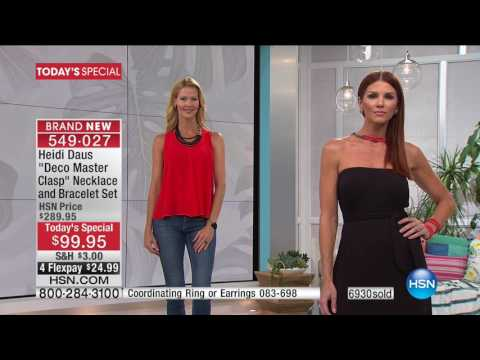 HSN | Heidi Daus Jewelry Designs 05.16.2017 - 05 PM