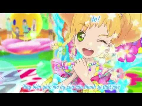 【Aikatsu Stars!】Never Give Up☆ 【Yuzu Nikaidou】【Vietsub - Kara】