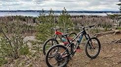 Tour de Länsi-Tampere Hessun kanssa // Canyon strive & Santacruz 5010