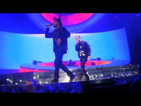 Crew Love - Drake & The Weeknd @ Ziggo Dome Amsterdam 2014