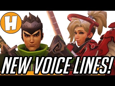 Overwatch - New Valentines Voice Lines, Hanzo and...
