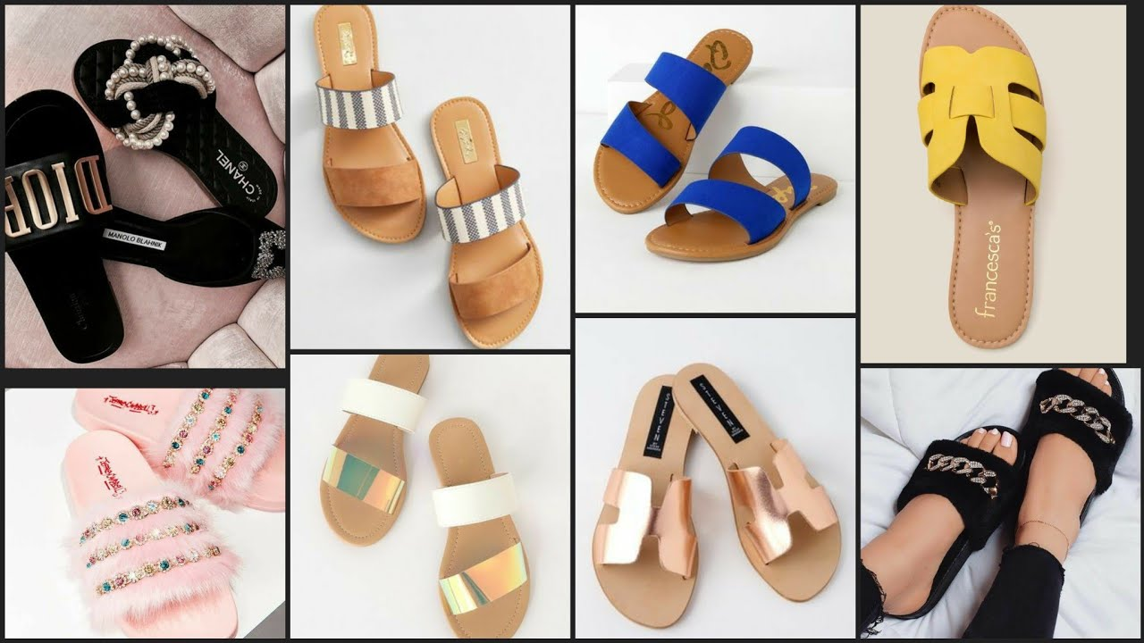 Various stylish most demanding summer flat sandals collection 2020
