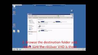 Demo:- Recover Hyper V using DPM 2010 RC