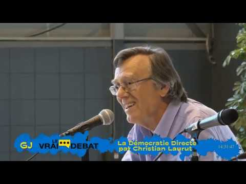 Démocratie Directe vs RiC  - Christian Laurut vs Etienne Chouard (2ème partie)