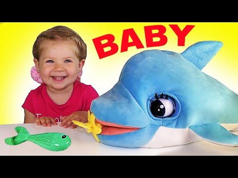 ✿ Дельфин БЛУ БЛУ Интерактивная Игрушка Супер Друг Interactive Toy Blu Blu Dolphin unboxing  toys