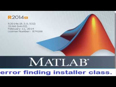 error finding installer class Matlab {SOLVED}