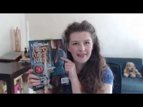 Unofficial Harry Potter Knits: Pattern Reviews! Episode 38 - Daily Vlog - Expertly Dyed