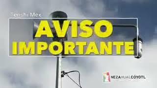 Aviso Importante Alerta Sísmica en Nezahualcóyotl 19 Marzo 2018 - 12:00pm