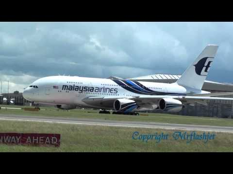 Malaysia Airlines A380 vs 747 Queen Of The Skies HEATHROW FLIGHT DEPARTURES Plane Spotting Guide