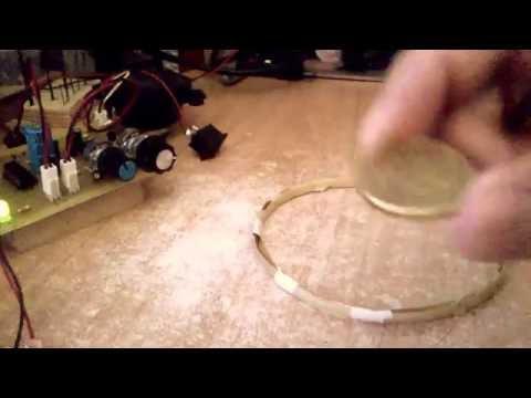 Metal Detector 12cm coil ~400μH