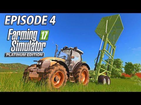 TURNING AROUND FIELD 1   Farming Simulator 2017 Platinum Edition   Estancia Lapacho - Episode 4