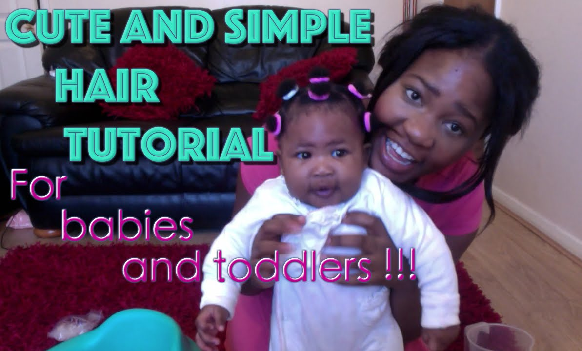Cute Simple Easy Hair Style For Babies And Toddlers Afro Hair
