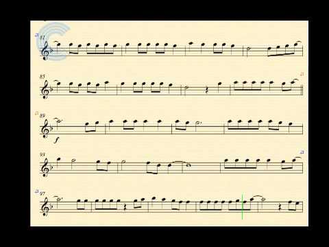 Mirrors Justin Timberlake Soprano Saxophone Sheet Music Chords