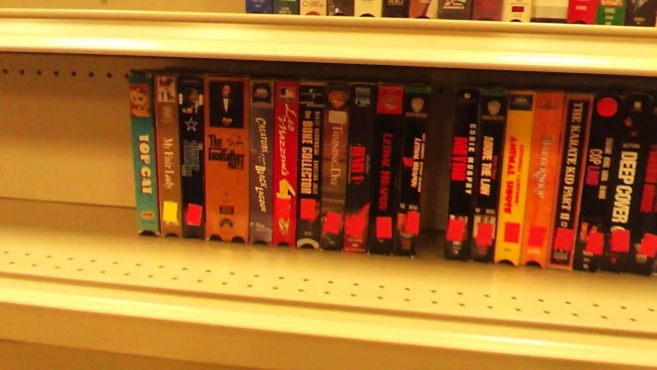 organization of vhs tapes dvd s cd s at goodwill at ga youtube