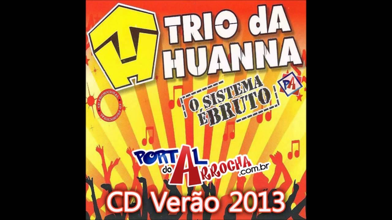 cd de trio da huanna verao 2013