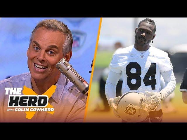 Colin talks ABs helmet drama, says Dak is making a mistake betting on himself | NFL | THE HERD