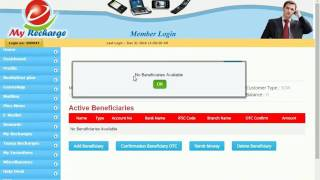 My Recharge Money Transfer How to Register