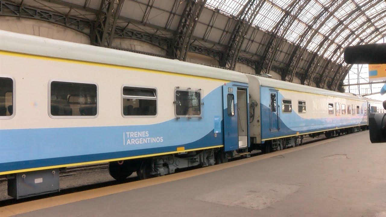 Meoni anunció la reactivación de los trenes de larga y media distancia