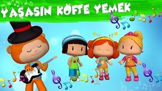 Pepee Çocuk Şarkıları - Köfte Yemek - Düşyeri