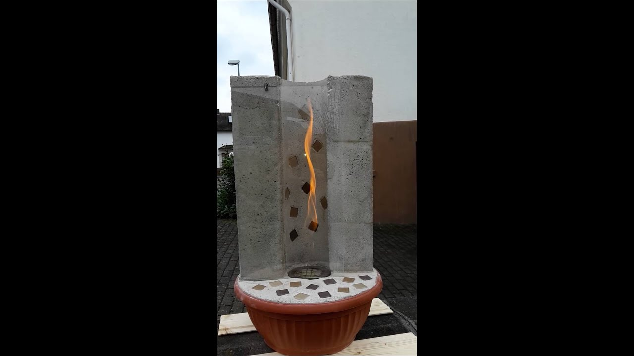 Feuerzyclon Feuersäule Youtube