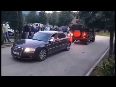 Audi A8 4.2 TDI vs Land Rover Deffender - Tug of War 💪