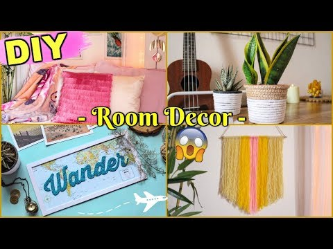 DIY ROOM DECOR IDEAS Under ₹100 | Best And Easy Room Decorations