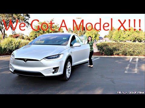 We Got A Model X | Tesla Journey
