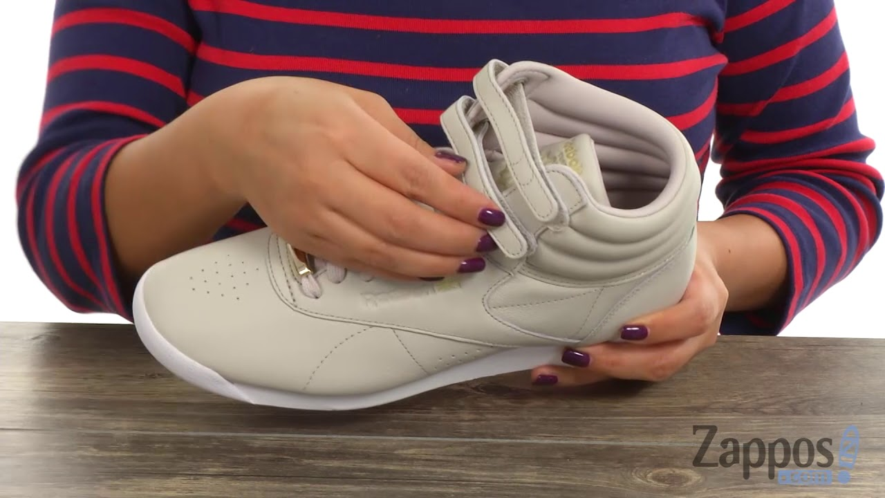 3f34ccd2b2a40 Reebok Lifestyle Freestyle Hi Muted SKU  8978110 - YouTube
